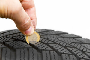 Coin Trick - Car Tyre